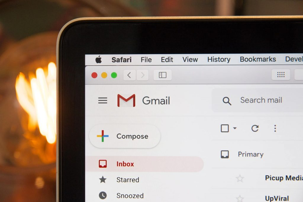 vector de ataque gmail
